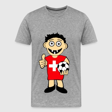 Swiss Ball Boy - Men's Premium T-Shirt
