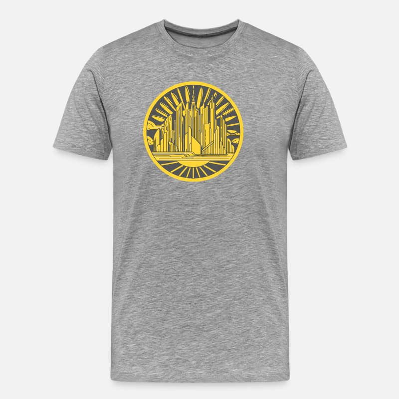 Sunny T-Shirts - Sunny Tattoos (Into the Badlands) - Men's Premium T-Shirt heather gray