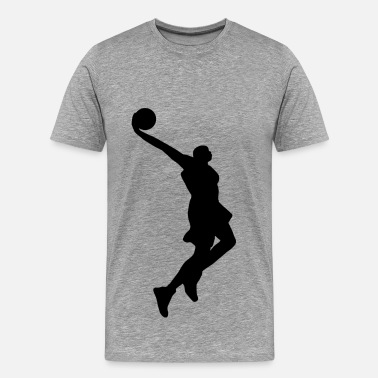 Basketball Goal Basketball design goaling - Men's Premium T-Shirt