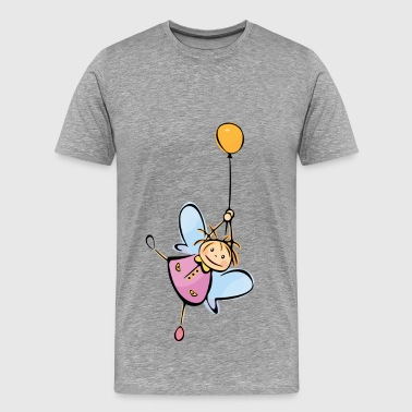 Little angel kid cartoon - Men's Premium T-Shirt