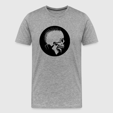 Horror Punk Punk Skull - Men's Premium T-Shirt