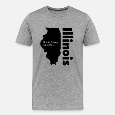 Illinois Sucks Illinois - Men's Premium T-Shirt