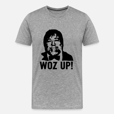 Steve Wozniak Woz Up! - Men's Premium T-Shirt
