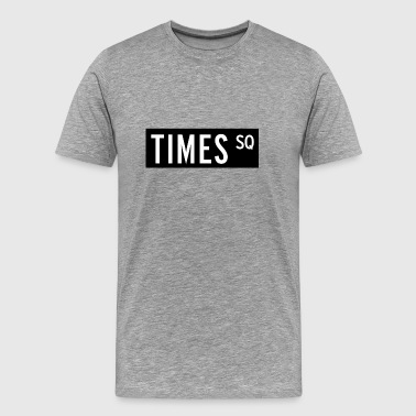 New York Times Square Times Square New York City - Men's Premium T-Shirt
