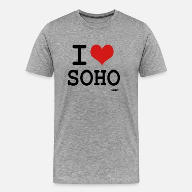 Soho i love soho by wam - Men's Premium T-Shirt