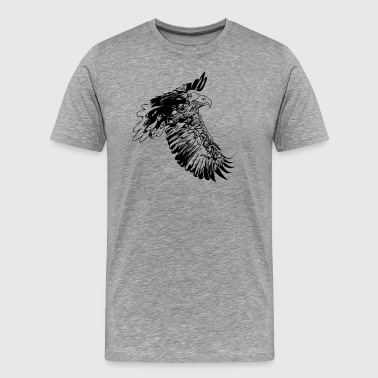 Free Bird Eagle - Men's Premium T-Shirt