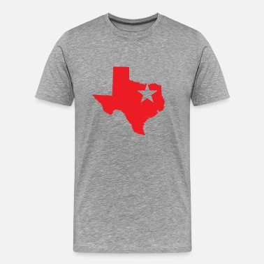 Dallas Stars Dallas Texas Star - Men's Premium T-Shirt