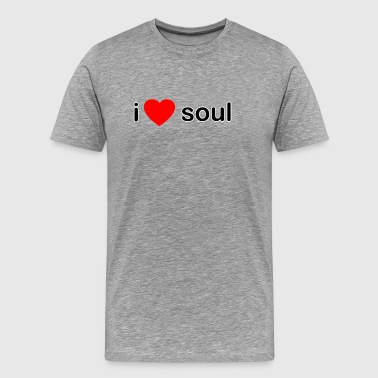 I Love Soul DJ - Men's Premium T-Shirt