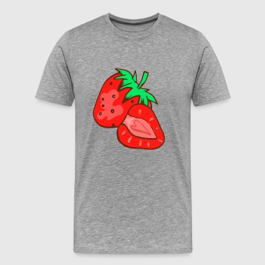 Strawberry Strawberries Berry Berries - Men's Premium T-Shirt
