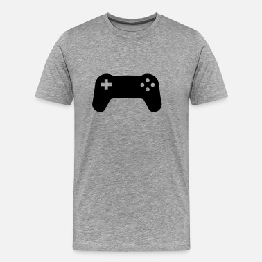 Gamers Players Controller console gamer player - Men's Premium T-Shirt