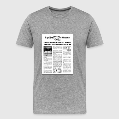 Extra! Extra! The News is OUT! - Men's Premium T-Shirt
