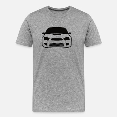 Wrx Sti JDM Car eyes STI 2 - Men's Premium T-Shirt