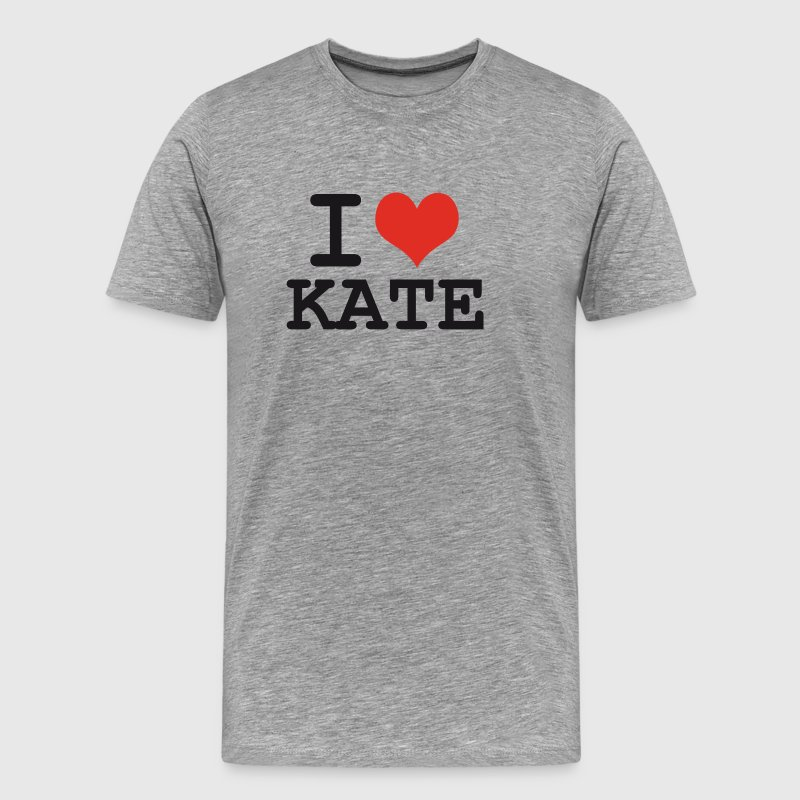 I love Kate - Men's Premium T-Shirt