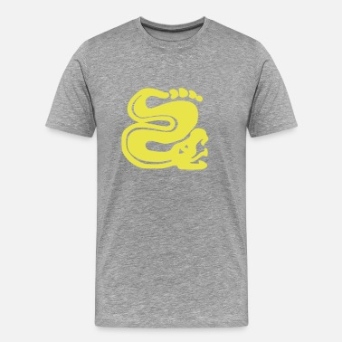 Dope Sports Team Silver_Snakes (HQ) - Men's Premium T-Shirt