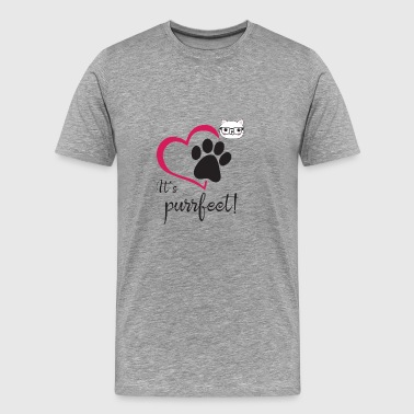 It's Purrfect - Men's Premium T-Shirt