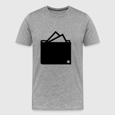 Wallet - Men's Premium T-Shirt