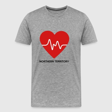 Heart Northern Territory - Men's Premium T-Shirt