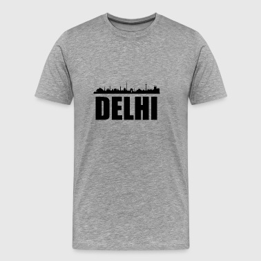 Delhi Skyline - Men's Premium T-Shirt