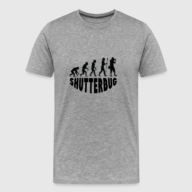 Shutterbug Evolution - Men's Premium T-Shirt