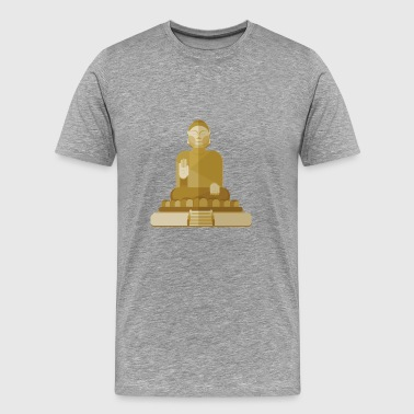 Inner Peace is Inner Power - Buddha - Men's Premium T-Shirt