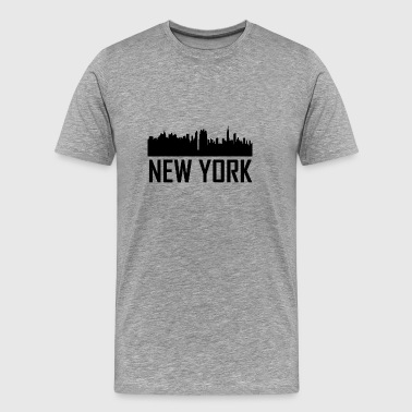 New York City New York Skyline New York City Skyline - Men's Premium T-Shirt