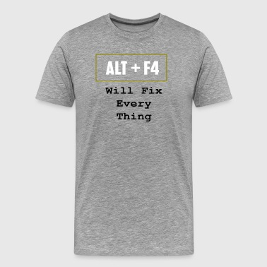 ALT+F4 - Men's Premium T-Shirt
