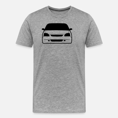 Awesome Jdm And Sport Cars Designs. JDM Car eyes EP3 | T-shirts JDM - Men's Premium T-Shirt