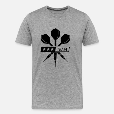 Dart darts - Men's Premium T-Shirt