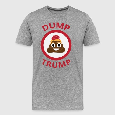 Dump Trump Emoji - Men's Premium T-Shirt