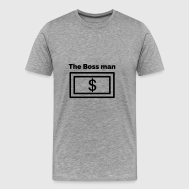 Boss man - Men's Premium T-Shirt