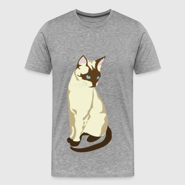 Gatto cat clip art - Men's Premium T-Shirt