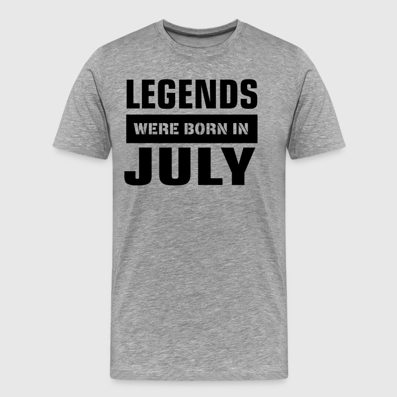Legends were born in July - Men's Premium T-Shirt