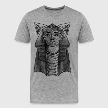 pyramid sphinx - Men's Premium T-Shirt