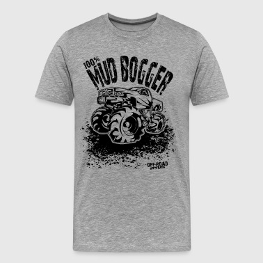 100% Mud Bogger - Men's Premium T-Shirt