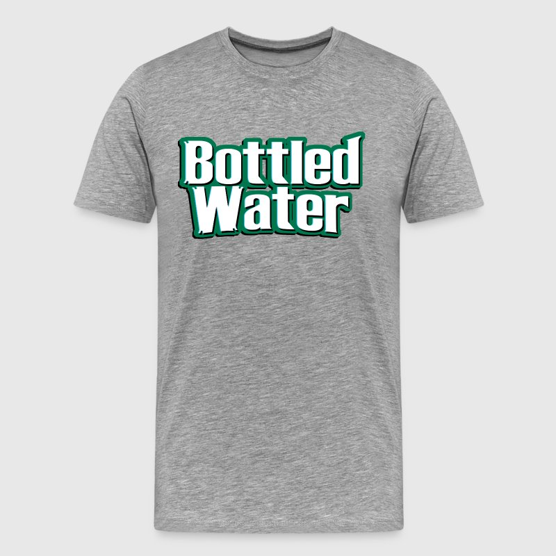 Bottled water t shirt spreadshirt bottled water mens premium t shirt sciox Gallery