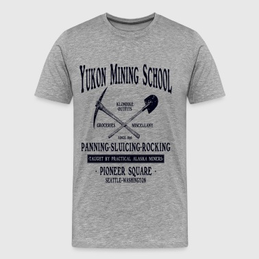 Yukon Mining School - Men's Premium T-Shirt