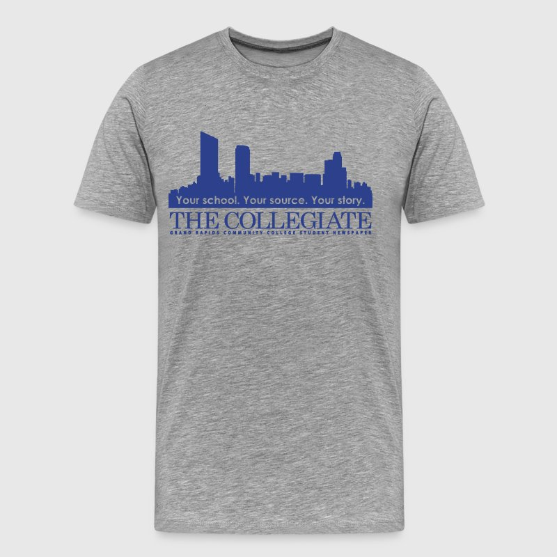 GRCC Collegiate logo - Men's Premium T-Shirt
