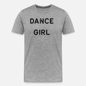 3692cd46a Dancing Shirt Dance Girl Black Tap Ballet Cute Gift Hip Hop by ...