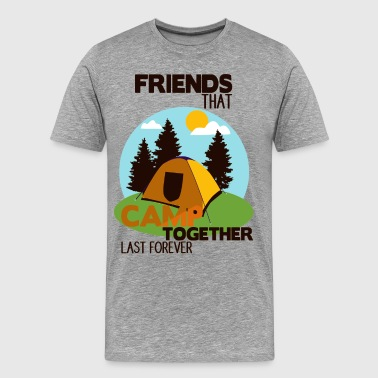 Masskrug Camp Shirt • Camping with friends • Tent Gift - Men's Premium T-Shirt