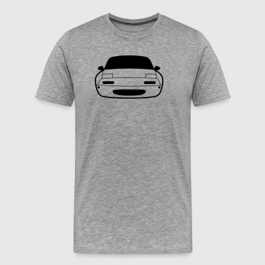 JDM Car eyes Miata NA | T-shirts JDM - Men's Premium T-Shirt
