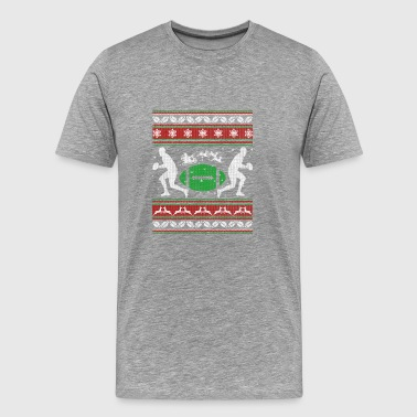 Rugby Christmas Rugby Shirt - Rugby Christmas Shirt - Men's Premium T-Shirt