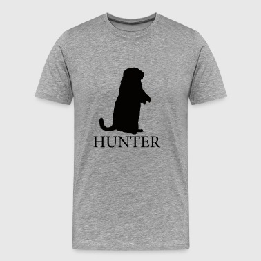 Crosshairs Prairie Dog Hunter - Men's Premium T-Shirt
