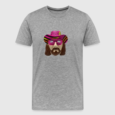 Macho Man Mask - Men's Premium T-Shirt