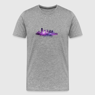 Florida Miami Skyscraper - Florida - Total Basics - Men's Premium T-Shirt