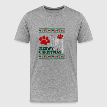 Meowy Christmas 1 - Men's Premium T-Shirt