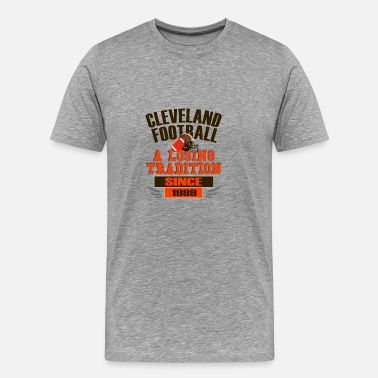 Love Cleveland Fun Cleveland Football Losing Since 1999 Design - Men's Premium T-Shirt