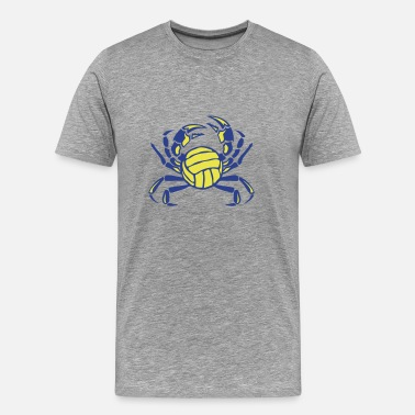 Club Logo crab volleyball club logo - Men's Premium T-Shirt