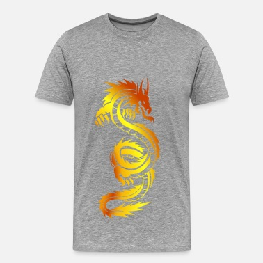 Tattoo Art Dragon tattoo art - Men's Premium T-Shirt