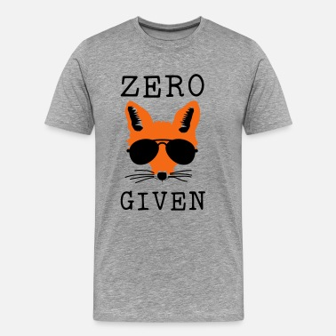 Zero Zero Fox Given - Men's Premium T-Shirt