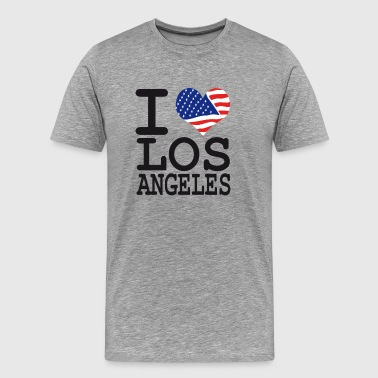 I Love Los Angeles i love los angeles - Men's Premium T-Shirt
